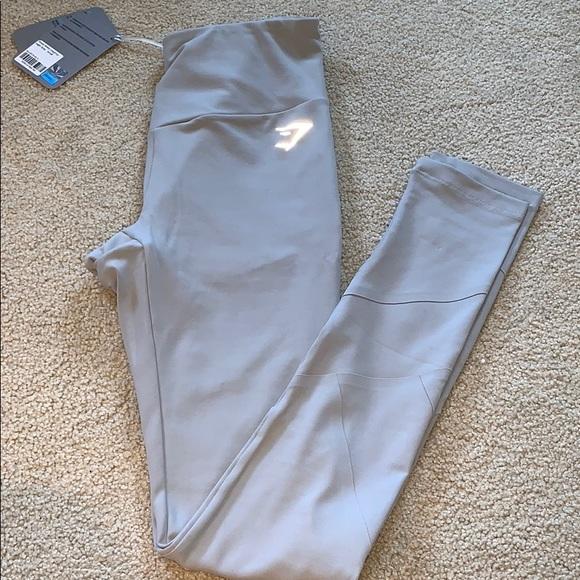 91e68a777d1a1a Gymshark Pants | Nwt Light Grey Fused Ankle Leggings | Poshmark